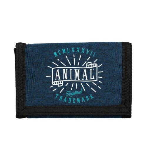 ANIMAL MENS WALLET.NEW EXPLOITED NAVY BLUE COIN CREDIT CARD MONEY NOTE PURSE 8W